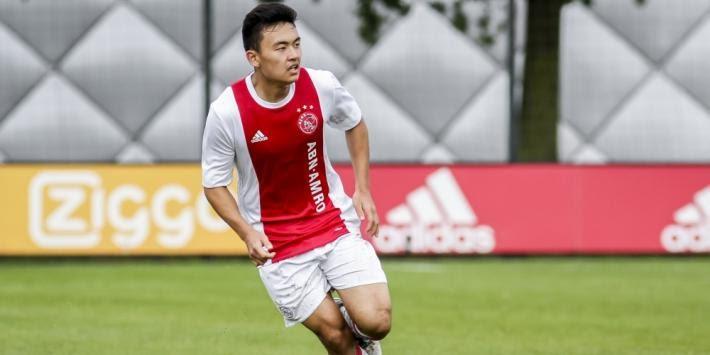 Pemain keturunan Indonesia, Jasper ter Heide saat masih berseragam Jong Ajax.